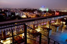 top rooftop cafe of jaipur