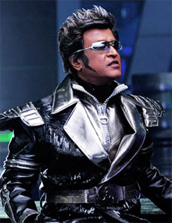 rajnikant in robot movie
